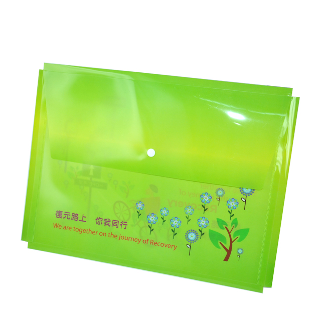 FolderMart : Plastic PP Document Bag